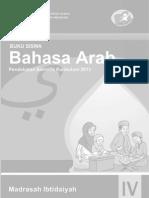 Buku Bahasa Arab MI 4 Siswa