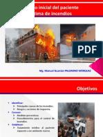 4- Manejo Inicial Del Paciente Victima de Incendios