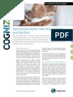 Synergizing Master Data Management and Big Data