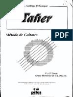 Método de Guitarra - 1Er Y 2O Curso Grado Elemental Logse