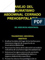 2- Manejo Del Trauma Abdominal Cerrado
