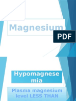 Magnesemia Report