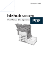Manual Service Bizhub