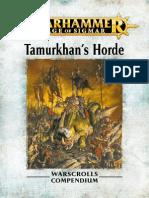 Warhammer Aos Tamurkhans Horde