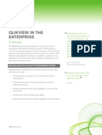 DS QlikView in the Enterprise En