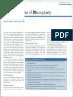 Basic Principles of Rhinoplasty