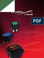 Catálogo de pulsadores M2B