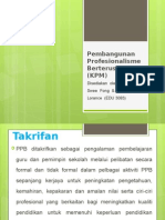 Pembangunan Profesionalisme Berterusan (KPM)