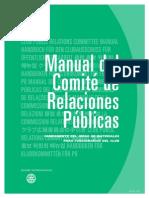 Manual del Comité de Relaciones Públicas