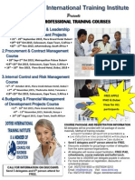 Project Management and Leadership Course 21 - 25 September Dubai, 2015