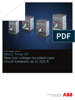 SACE Tmax XT New Low Voltage Moulded-case Circuit-breakers Up to 250 A