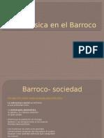 La Música en El Barroco INTERNET