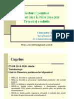 Sectorul Pomicol_2013 Si 2014-2020