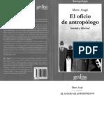AUGE, M. El Oficio de Antropologo