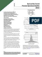 OP297 - Datasheet
