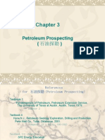 Chapter 3 Petroleum Prospecting
