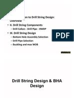 1. Drill String Design BHA Design1