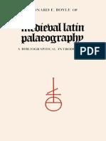 Leonard E. Boyle, Medieval Latin Palaeography