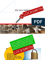 Reason Why You Need a Locksmith