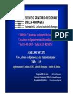 Faccini , Uso Abuso Da Benzodiazepine 16.05.15