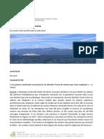 Revue de Presse Du 06.08.15 Au 12.08.15