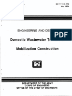 Domestic Wastewater Treatment