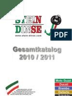 Stein-Dinse Katalog 2010