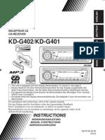 Kdg401 Instructions