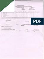 Pharmacy Cash Bill