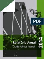 Relatório Da Divida Publica 2014 - Tesouro Nacional