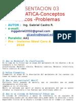 Presentación  conceptos basicos