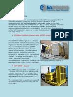 Offshore Diesel Generator