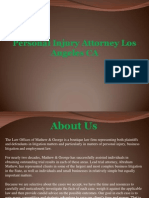 Personal Injury Attorney Los Angeles CA