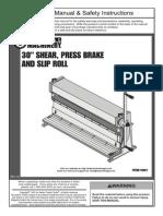 Shear Brake Roll Manual