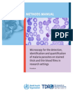 Microscopy for Malaria