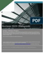 Horizon 2020 Champions