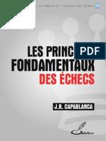 J.R. CAPABLANCA - Les Principes Fondamentaux Des Échecs (Edition 2014)