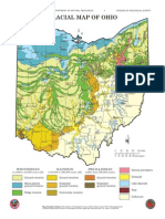 Glacial Map of Ohio