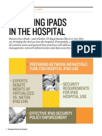 Managing IPads in the Hospital