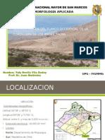Geomorfologia Del Flanco Occidental de La Cordillera De
