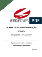 NTD001 Projeto de Loteamentos