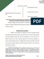 Headington Responds to Forest City Lawsut