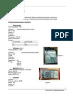 Impedancias Inductivas y Capacitivas