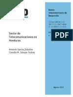 Sector de Telecomunicaciones en Honduras