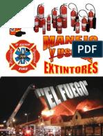 Manejo y Usos de Extintores