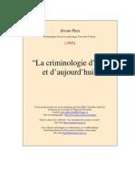 Crimino Hier Aujourdhui