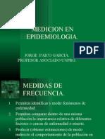 Medicion en Epidemiologia