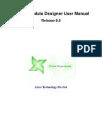 Elixir Schedule Designer User Manual