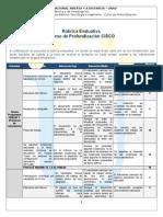 Rubrica Evaluativa Cp-cisco