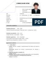 Curriculum Vitae Jhann Claudio Lopez Angulo